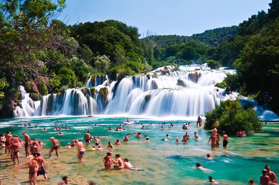 Park Narodowy Krka, jeden cudów natury