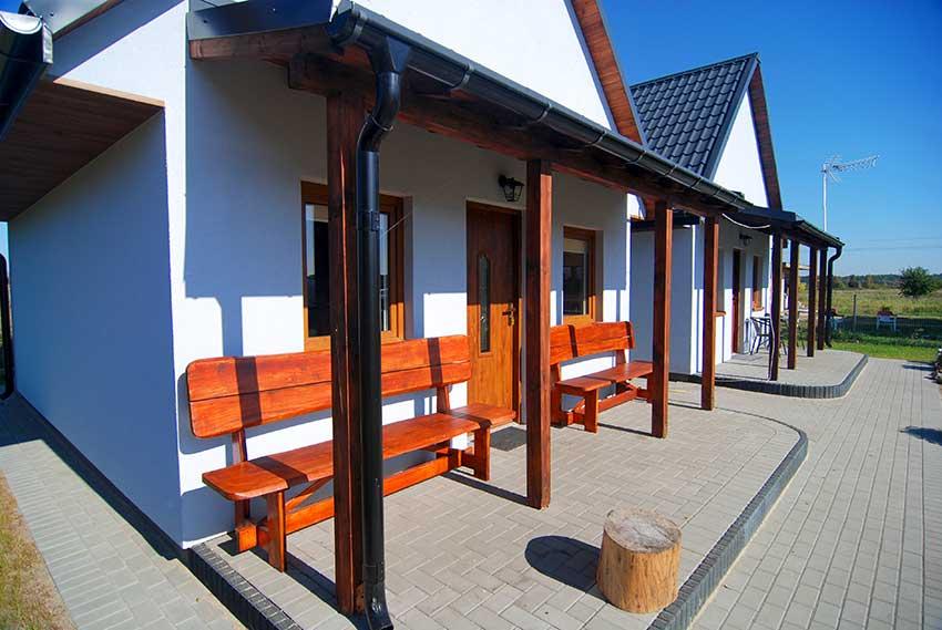 Łeba - domki letniskowe, Starzyńskiego