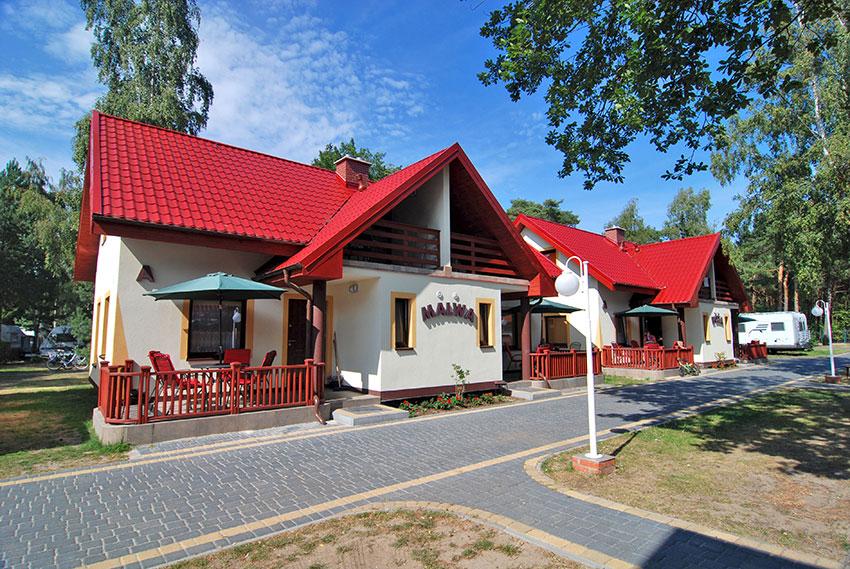Łeba - domki letniskowe Ambre, Nadmorska 9