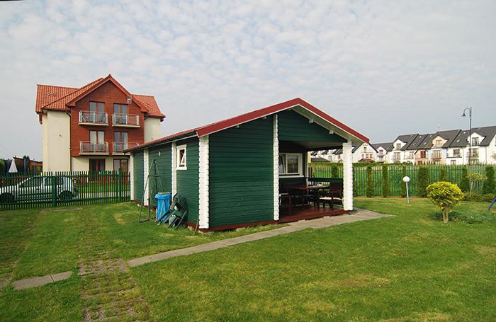 Łeba, domki letniskowe Viki, Kwiatkowskiego 14