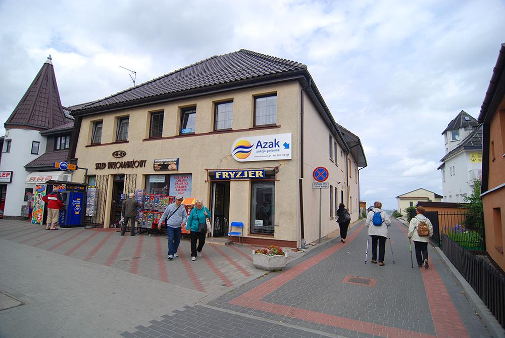 Sarbinowo - Pokoje gościnne AZAK, Nadmorska 68