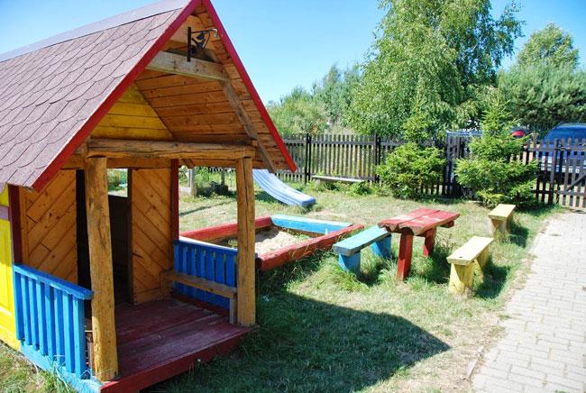 Dębina - Domki letniskowe, Sosnowa