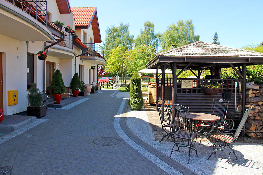 Rosa Park, Rowy, Jarzębinowa 4