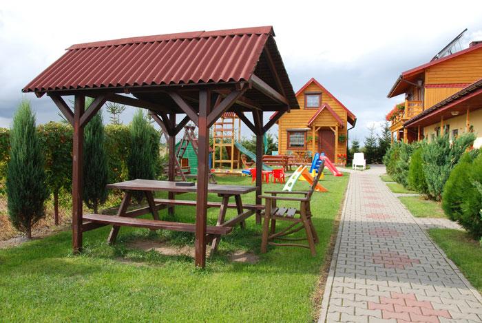 Sarbinowo - domki i pokoje Albatros, Bałtycka 36