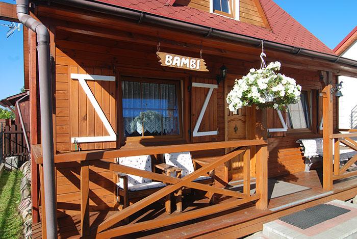 Łeba - domek letniskowy Bambi, Paderewskiego 10