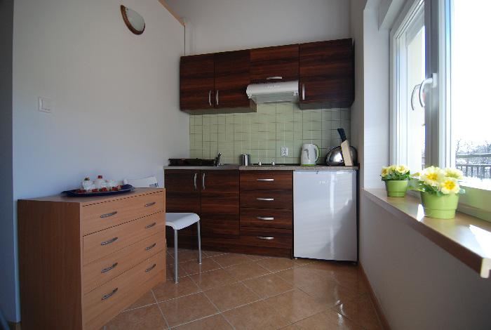 Poddąbie -apartament nr 1 aneks kuchenny, Spacerowa 19