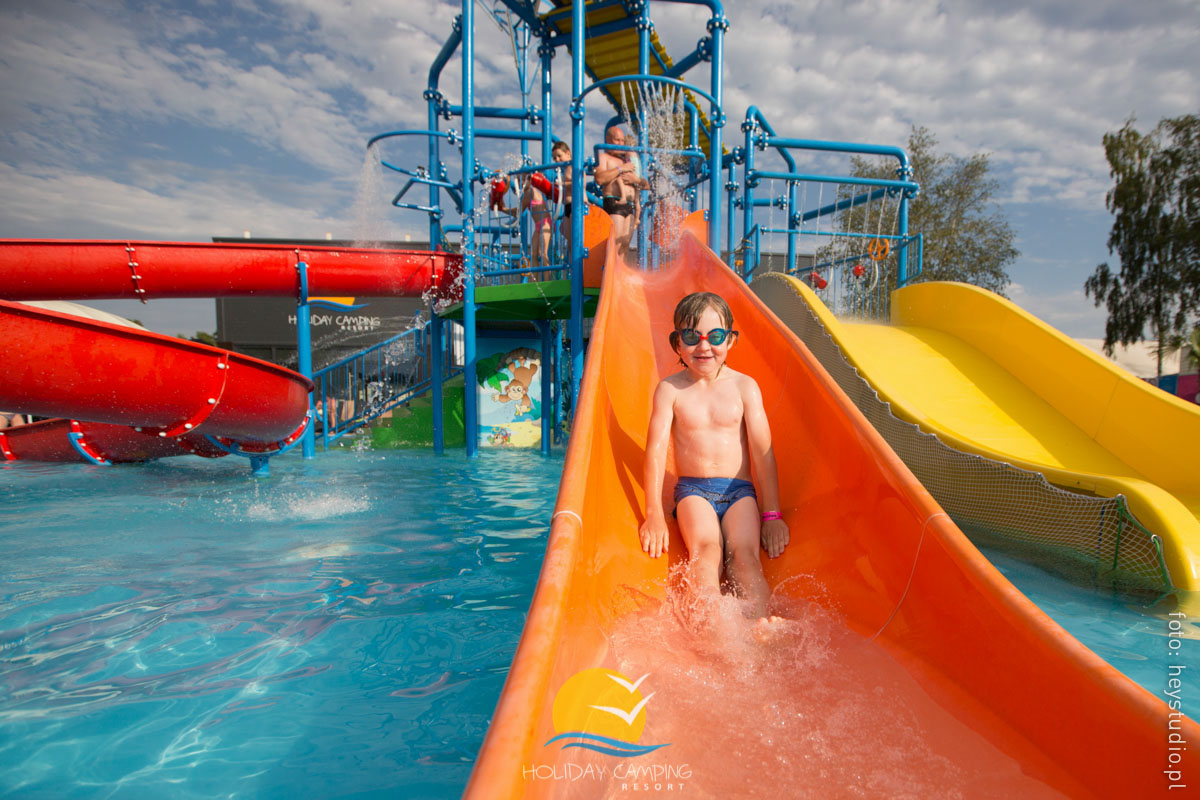 Aquapark w Holiday Camping