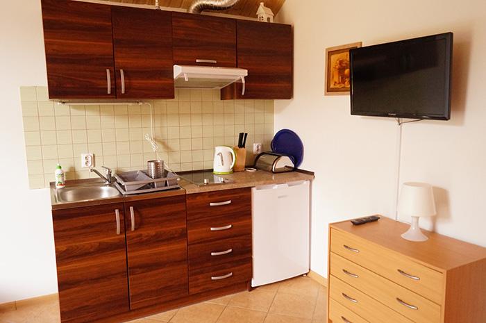 Poddąbie -apartament nr 2 aneks kuchenny, Spacerowa 19