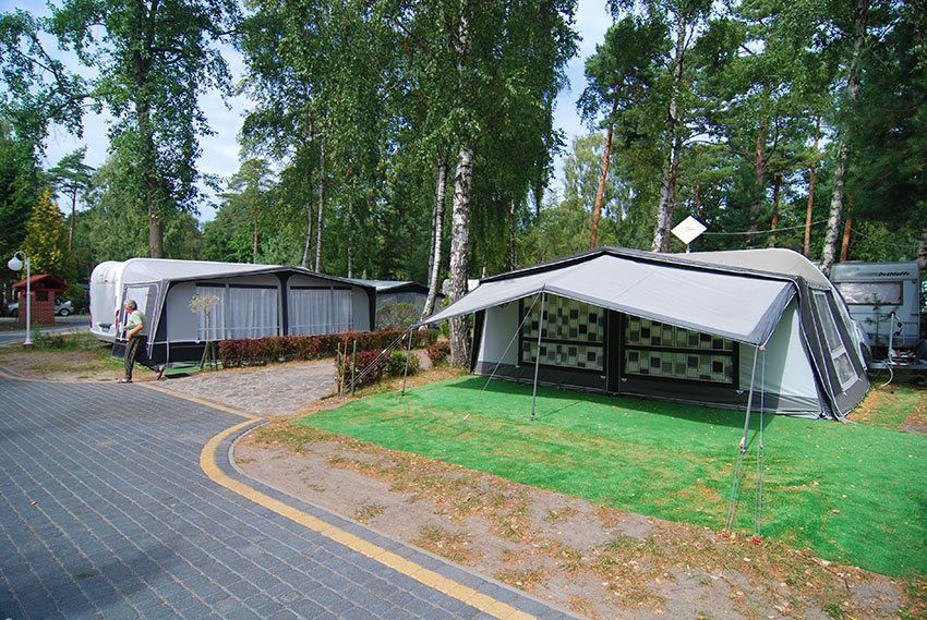 Łeba - Camping Ambre, Nadmorska 9