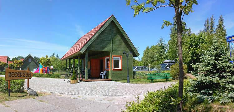 Łeba - domki letyniskowe Gród Księcia, Turystyczna 10